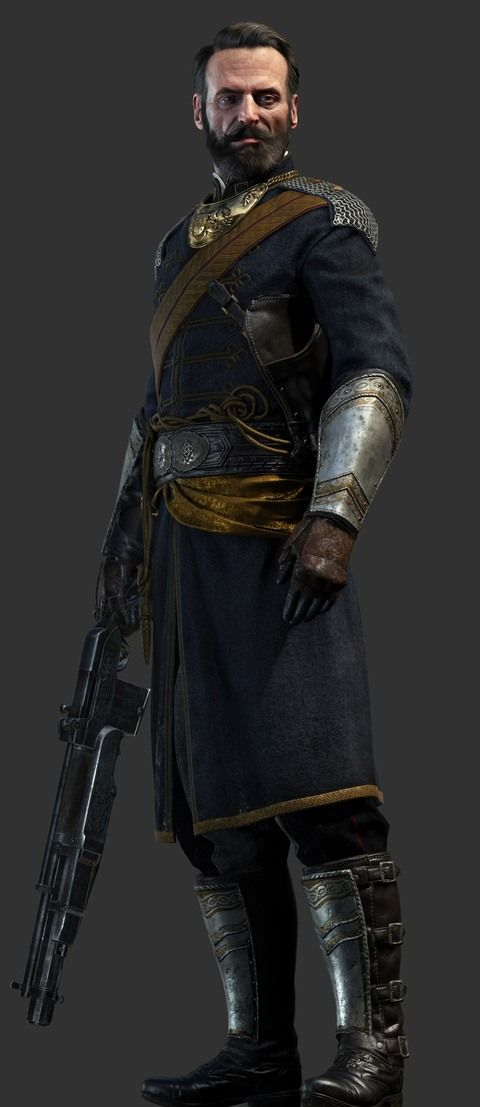 Sir Percival - the oldest and most experienced member of the Order, who suits well even in the toughest situations - Heroes - The Order: 1886 (coming soon) - Game Guide and Walkthrough