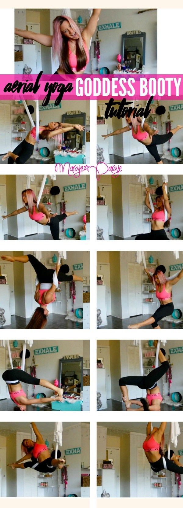 Aerial Yoga Goddess Booty Tutorial - Margie Pargie