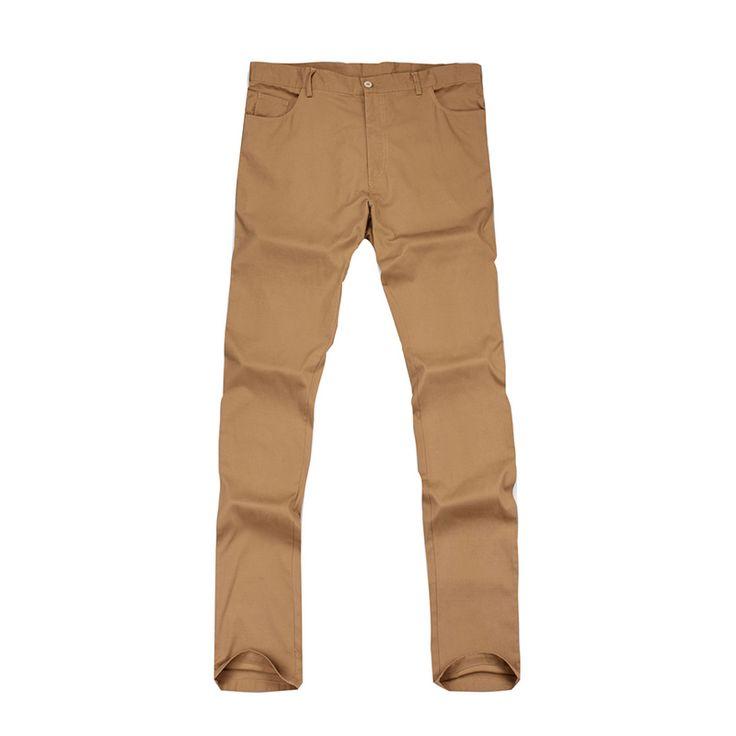 2017 Sale Men's Sports Pants Slim Straight Suit Golf Trousers Skinny Classic Style Three colors  Pantalon Homme