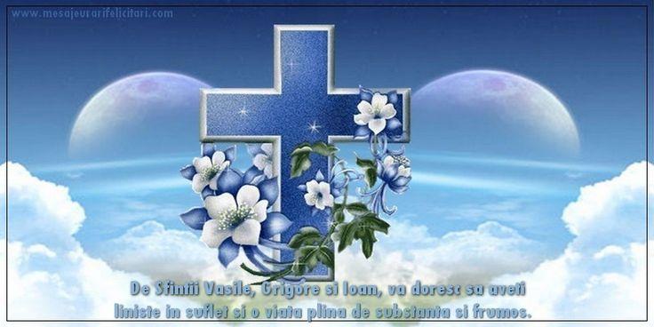 De Sfintii Vasile, Grigore si Ioan, va doresc sa aveti liniste in suflet si o viata plina de substanta si frumos.