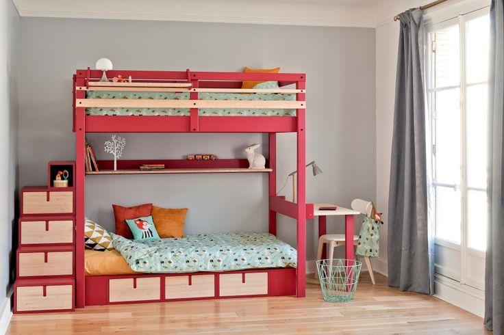 lits supperposés//bunk beds