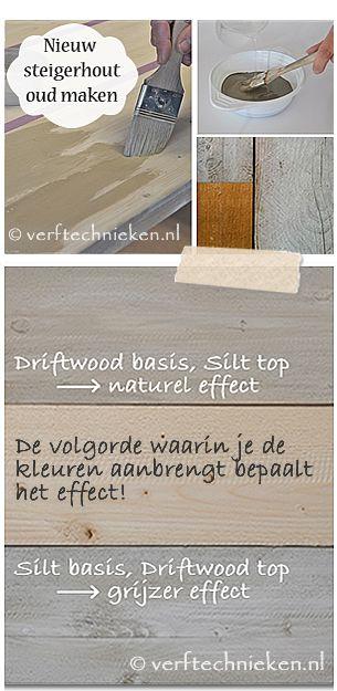 steigerhout vergrijzen verftechnieken.nl