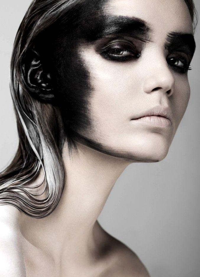saemea:Beauty Exclusive Fears, Paulina Szczepkowska by Weronika Kosińska, Make-up & Hair by Izabela Szelągowska