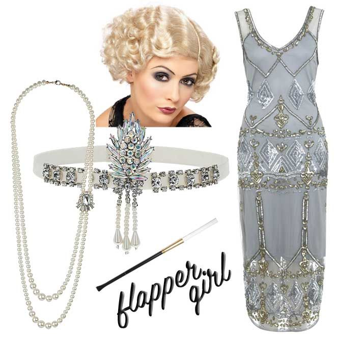 flapper girl costume for halloween