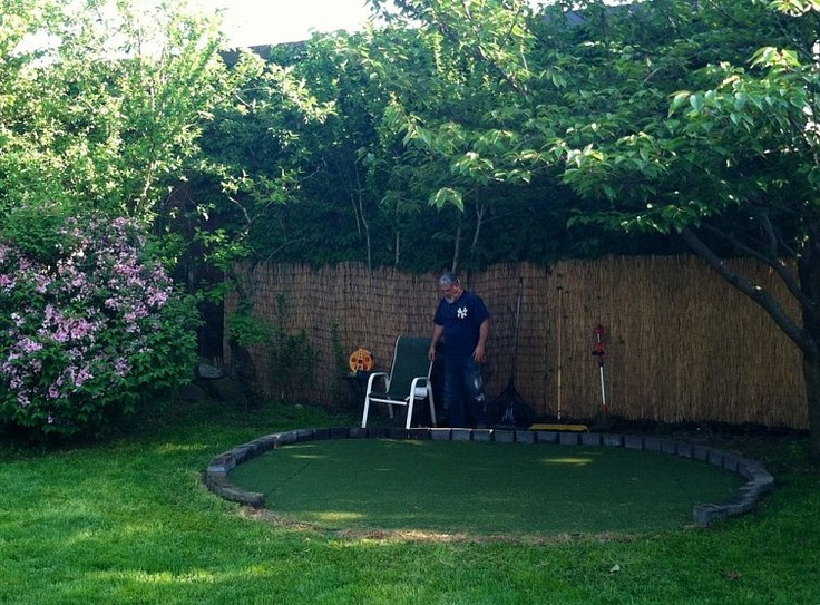 12 Great Ideas For A Modest Backyard: Dads, Father's Day And My Dad