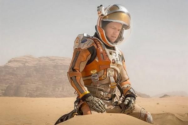 What if you were stranded on Mars with Matt Damon? #TheMartian