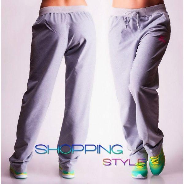 Спортивные штаны 014 серый