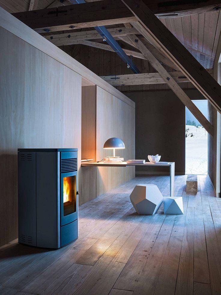 Stunning Contemporary Pellet Burning Stoves Energy