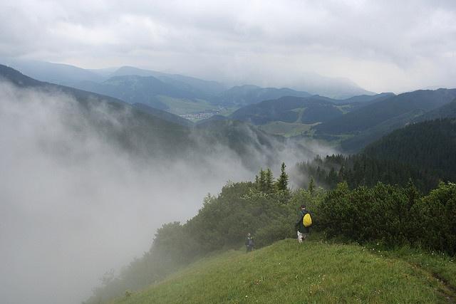 Nizke Tatry mountains in southern Slovakia