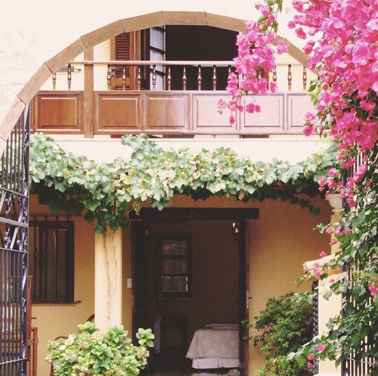 Entrada Villa Vicuña Cafayate