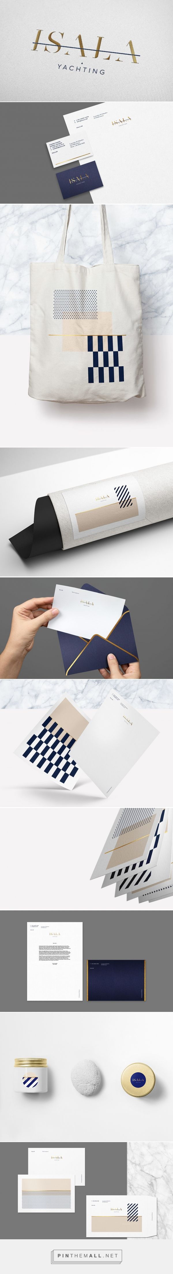 Isala Yachting Brand Identity by Luminous Design Group | Fivestar Branding Agency – Design and Branding Agency & Curated Inspiration Gallery