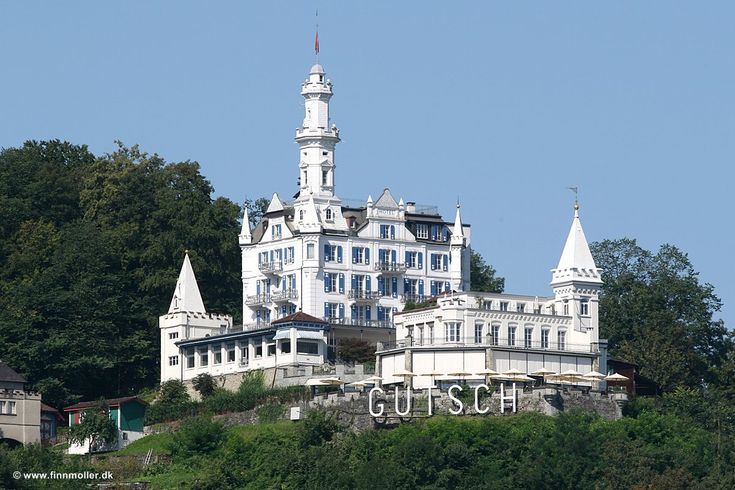 Chateau Gutsch, Lucern, Switzerland