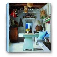 "Livro Decorativo ""Living in Greece""- Editora Taschen"