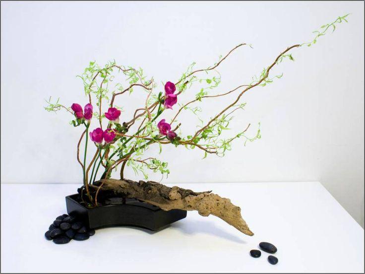 Ikebana, el arte japonés de las plantas vivientes @alvarodabril