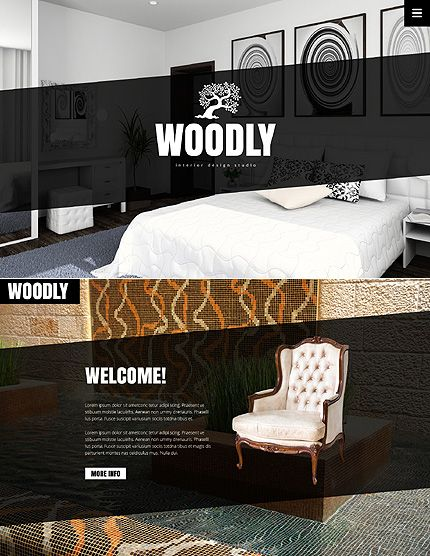 Template 49396   Interior Design Javascript Animated Website Design. 52 best images about Interior   Furniture Website Templates on