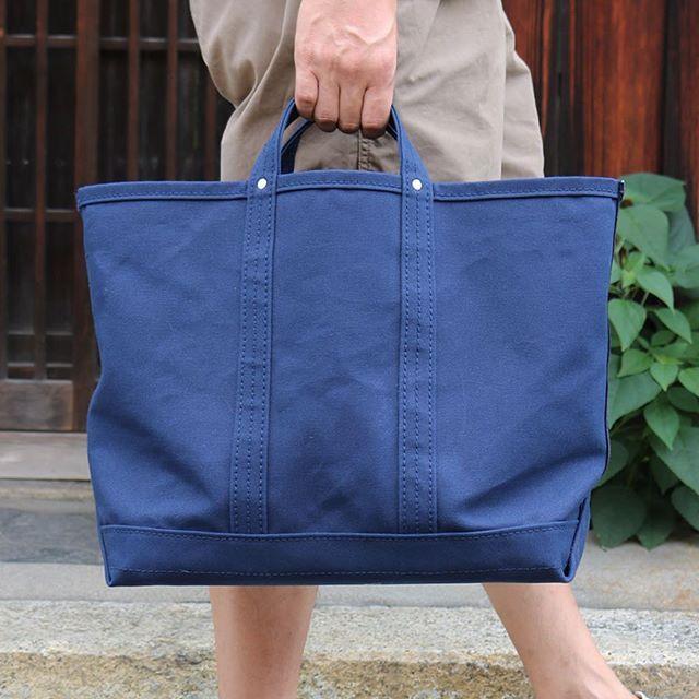 """ㅤㅤ """"ALWAYS SUPERIOR QUALITY"""" ㅤㅤ LABOR DAY & Co. / Navy Canvas Tool Bag ㅤㅤ #labordaycompany"""