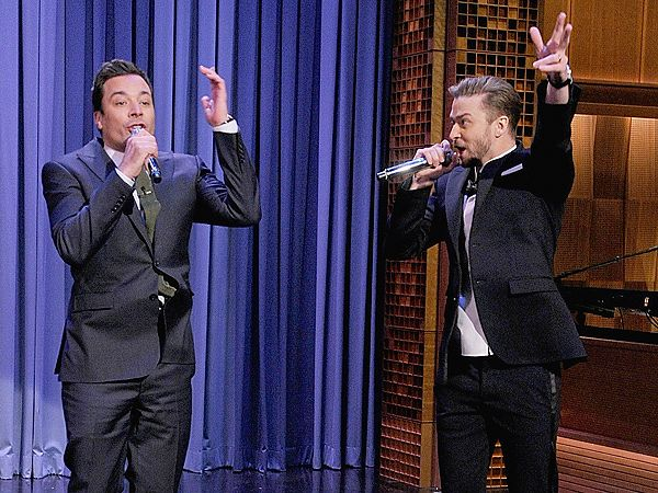 Justin Timberlake and Jimmy Fallon: A History of the 'History of Rap'. Watch on YouTube!!!! Hilarious!!!!