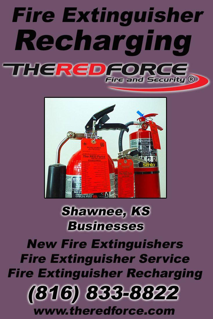 Fire Extinguisher Recharging Shawnee, KS (816) 8338822