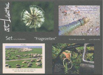 Fragezeiten (4er-Set Postkarten) - Fontis-Shop