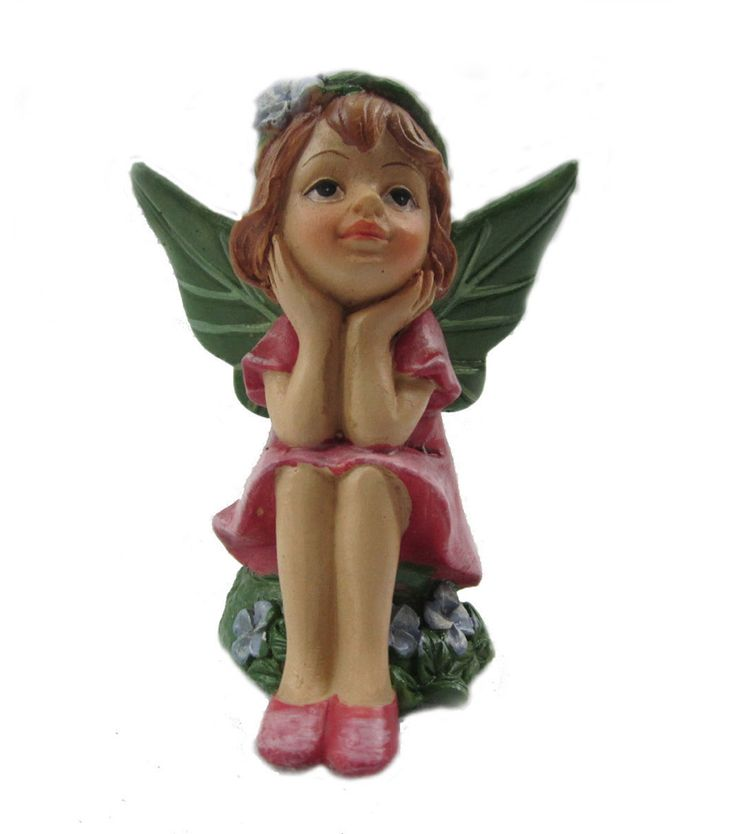 Bloom Room Littles Fairy with Head in Hands