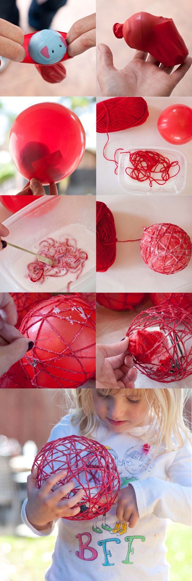 Yarn Ball Party Favors