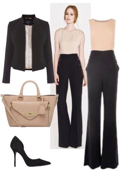 How To Wear An Elda Block Colour Jumpsuit #lovemylook #Jumpsuit #AliceByTemperley