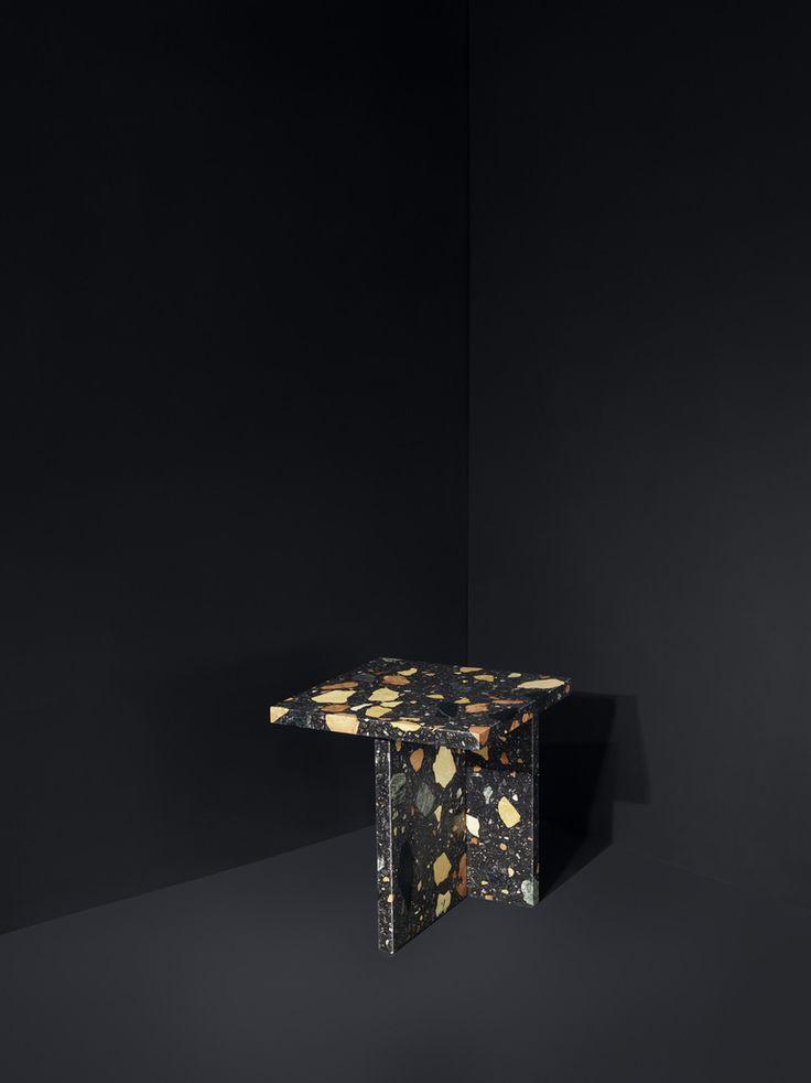 Marmoreal Side Table