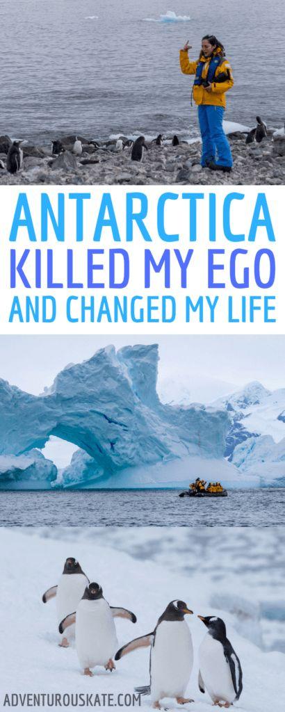 Antarctica and the Traveler's Ego - Adventurous Kate : Adventurous Kate