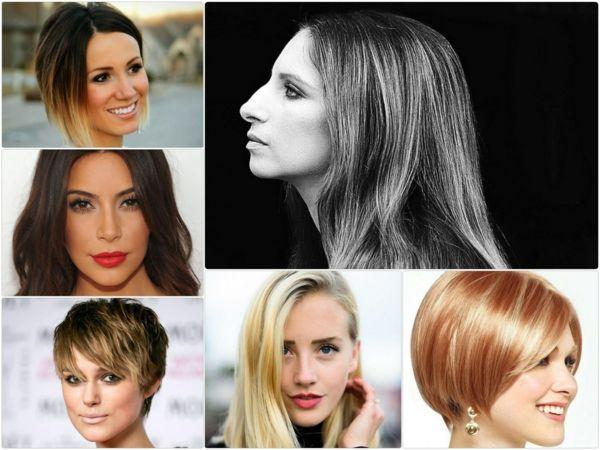 Frisuren Frauen Grosse Nase Frisurentrends Coiffure