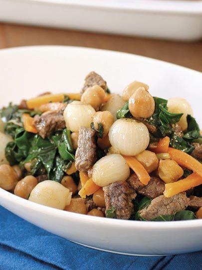 Pazılı ve soğanlı et kavurma Tarifi - Türk Mutfağı Yemekleri - Yemek Tarifleri