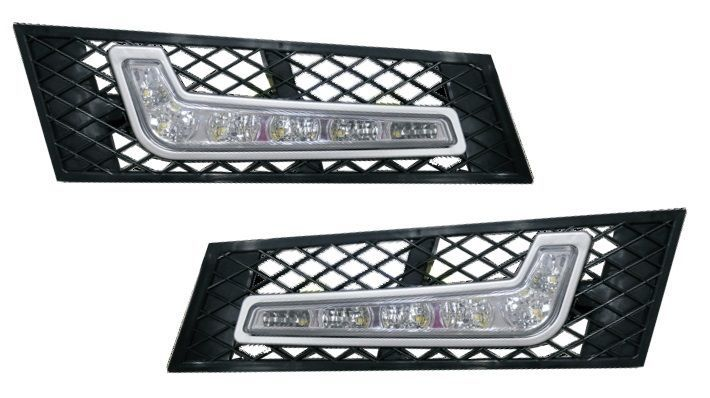 2010-2015 BMW F10/F11 5 Series High Power Bumper LED Daytime Light DRL FOG LAMPS #RollingGears