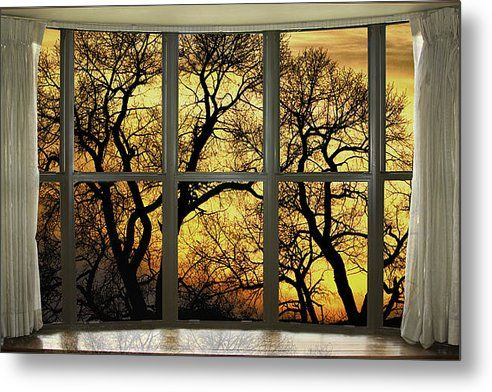 Best 50+ Nature Windows With a View Metal Wall Art images on ...