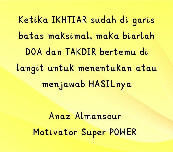 Pin Oleh Motivator Super Power Di Kata Motivasi Motivasi