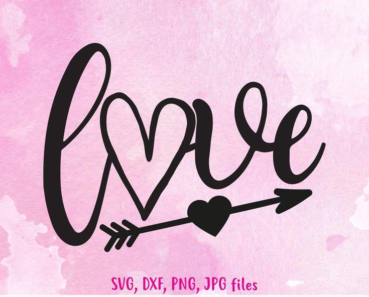 Download Love with arrow svg Valentine Love svg Valentines svg ...