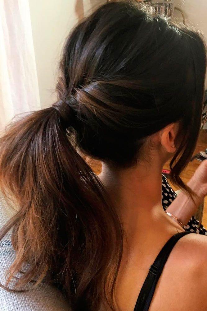 sporty ponytail ideas