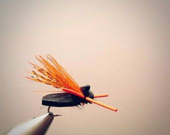 Fly Fishing Flies Foam Beetle by DenverFlyCompany on Etsy