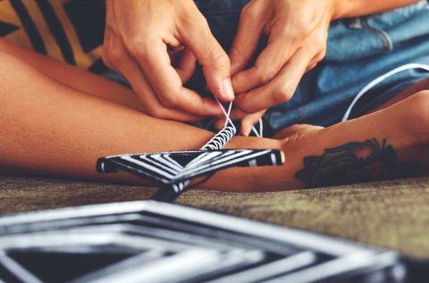 LAKSMI WILSON IS WEAVING WITH TRADITION with copper and cross  Written by Birralee Paitson  #Art #ArtisanHomewares #Design #Ethical #handmade #LaksmiWilso #PanamatoByronBay #TraditionalWeaving #mindfulness #conscious #welum #readonwelum #creativity