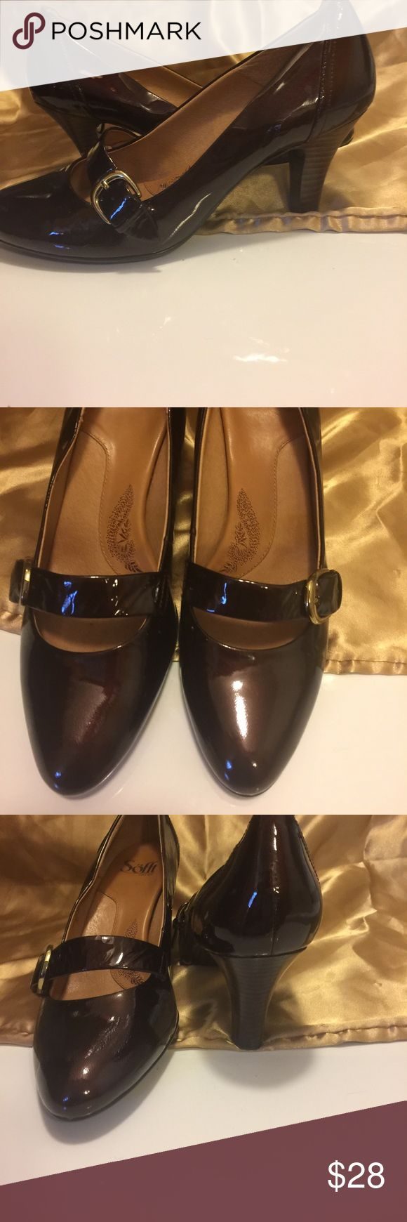 Very cute and comfortable Sofft shoes Great condition like new Sofft Shoes Heels