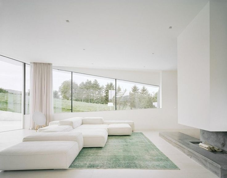 28 best richard meier interiors images on Pinterest Richard - villa wohnzimmer modern