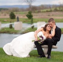 #wedding #anthonyslakeside #fountains #justmarried