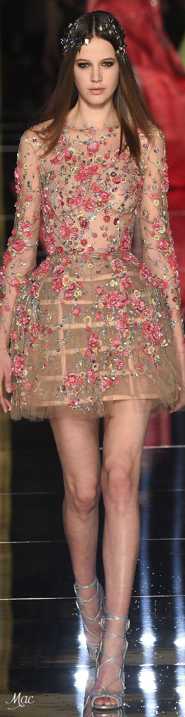 Spring 2016 Haute Couture Zuhair Murad www.aromatiqueessentials.com.au