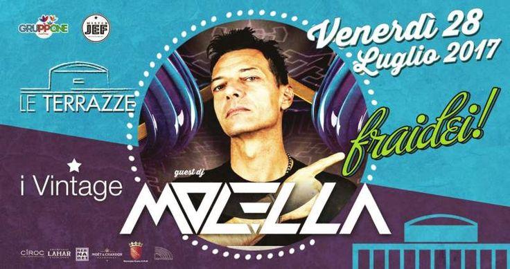 DJ Molella a Roma - Le Terrazze zona Eur Palazzo dei Congressi