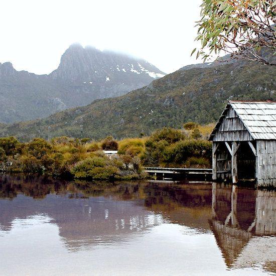 Reflection. Taken at Cradle Mountain, Tasmania, October 2013