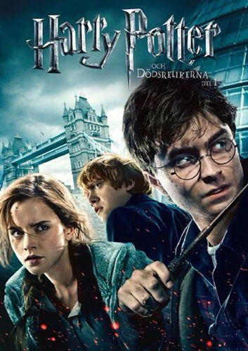 Harry Potter og Dødsregalierne del 1+2 dvd