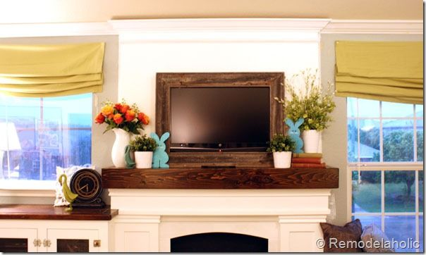 Spring Mantel I Tried Mantels Mantle And Living Rooms