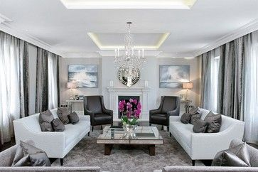 Main Living Space - transitional - Living Room - London - The Sofa & Chair Company