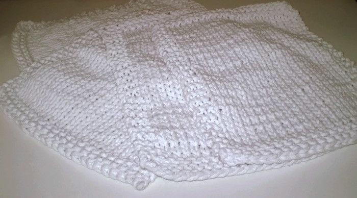 Duże eleganckie białe podkładki - Edyta-86 - Dekoracje