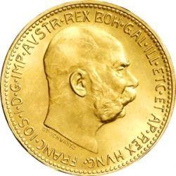 Goldkrone Goldmünze - Eine Münze mit Tradition : http://www.goldpreis.at/gold/goldmuenzen/goldkrone/ #goldkrone #goldmünze
