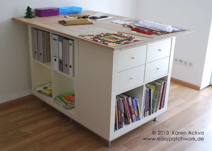 easypatchwork: new customized sewing room cutting table
