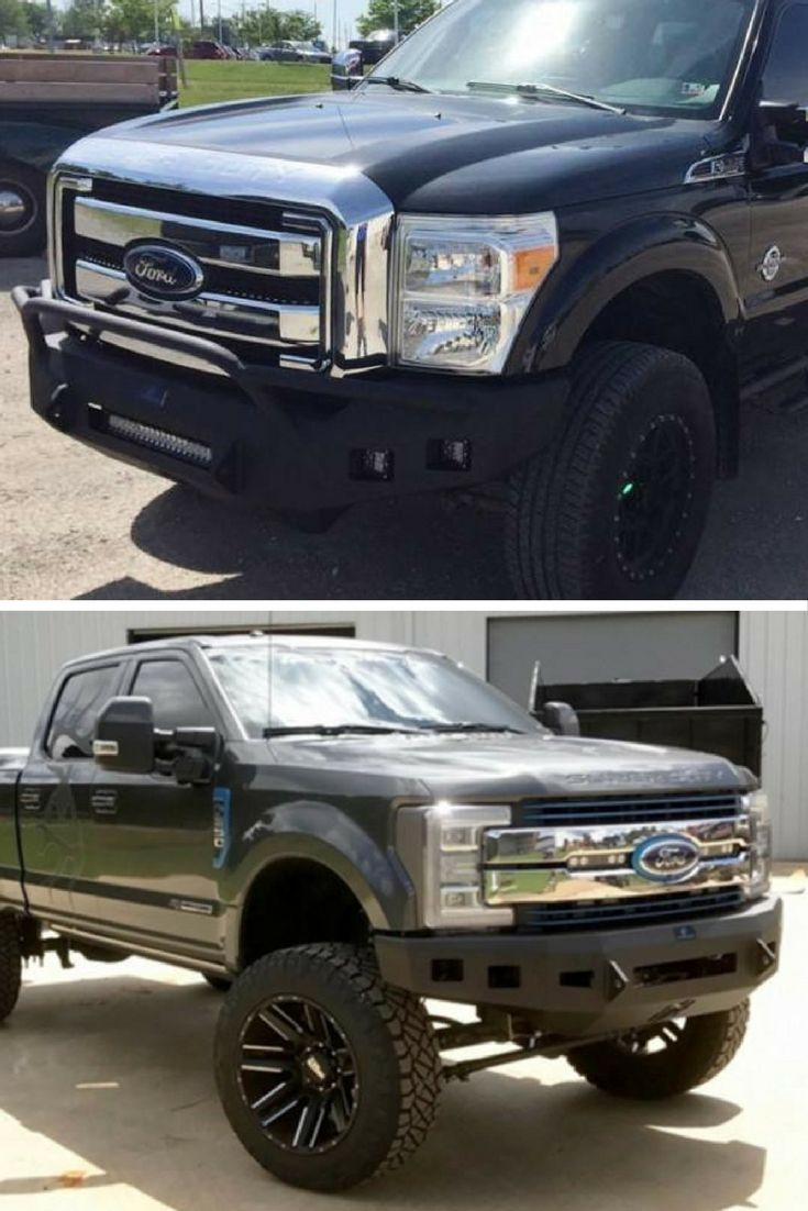 Hammerhead winch bumper ford super duty